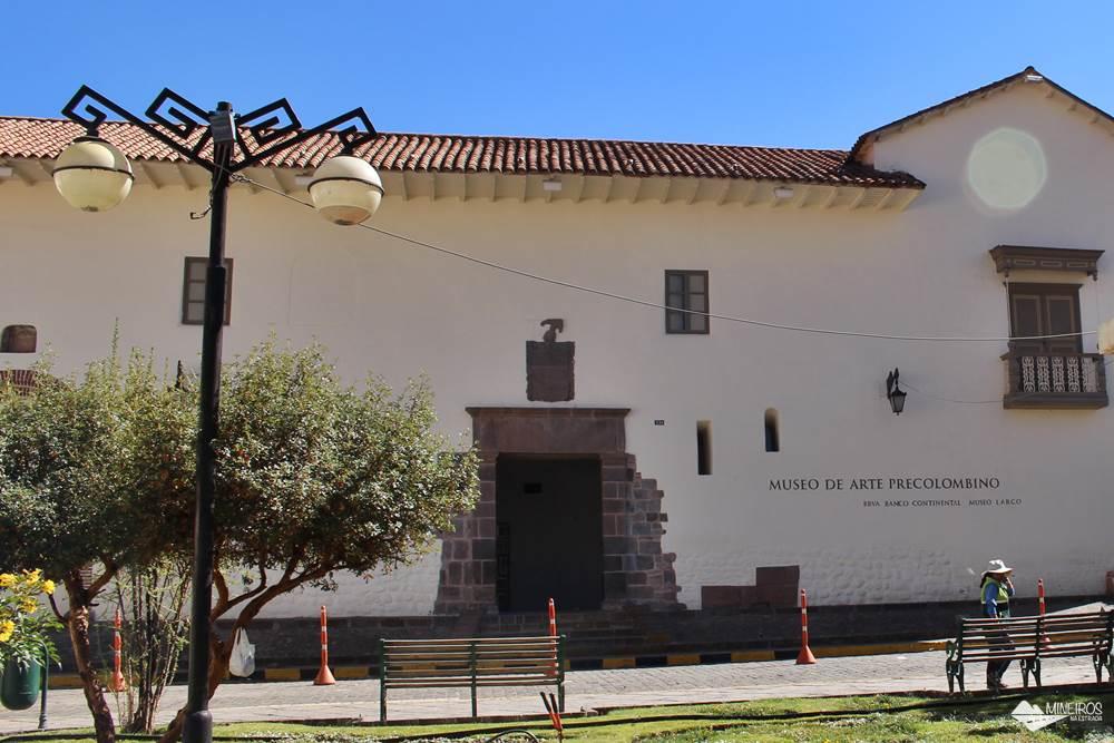 Museu de Arte Precolombino, em Cusco.