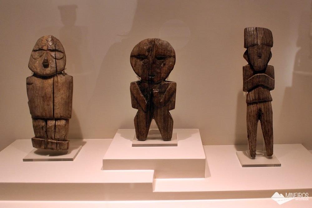 Sala de Madeira, do Museu de Arte Precolombino, em Cusco.