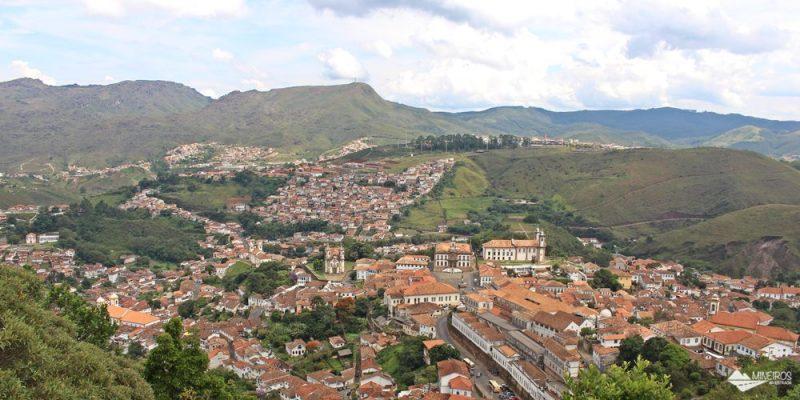 Os mirantes de Ouro Preto – 8 lugares para ver a cidade de cima