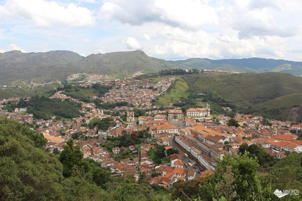 Ouro Preto, vista do Morro de São Sebastião.
