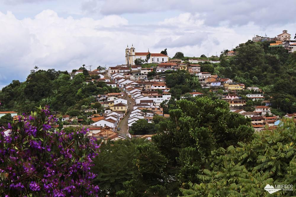 Igreja de Santa Efigênia, em Ouro Preto.