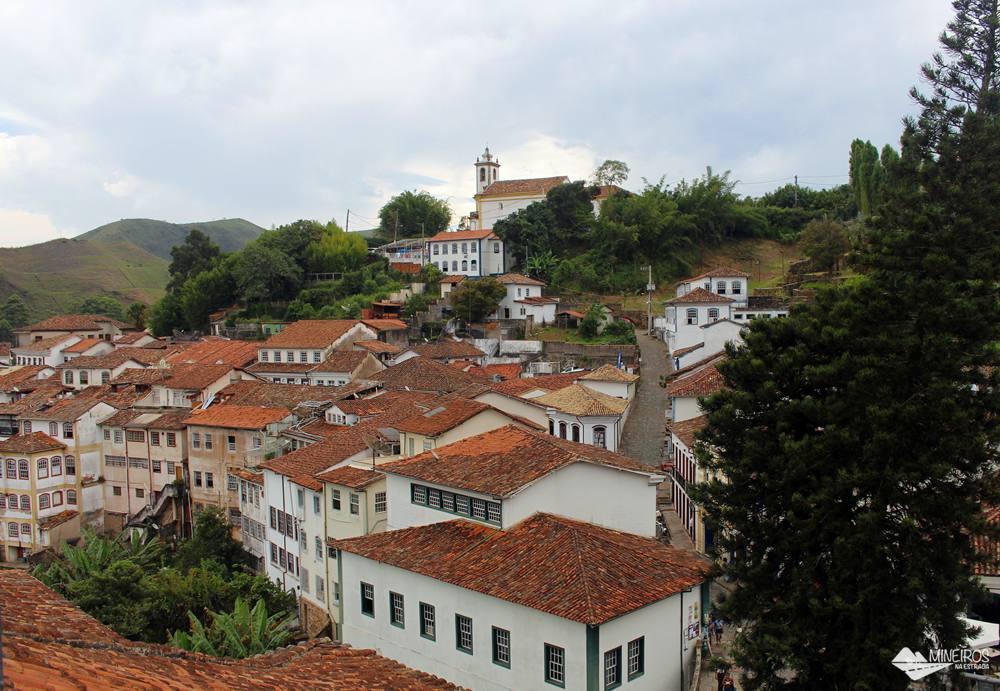 Ouro Preto, vista do mirante da Casa dos Contos.