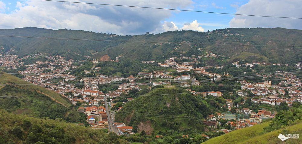 Ouro Preto, vista do Mirante da UFOP.