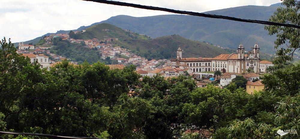 Ouro Preto, vista a partir da Igreja São Francisco de Paula.