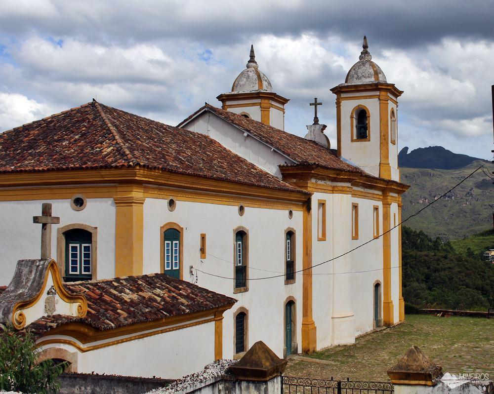 Igreja Nossa Senhora das Mercês e Perdões, em Ouro Preto.