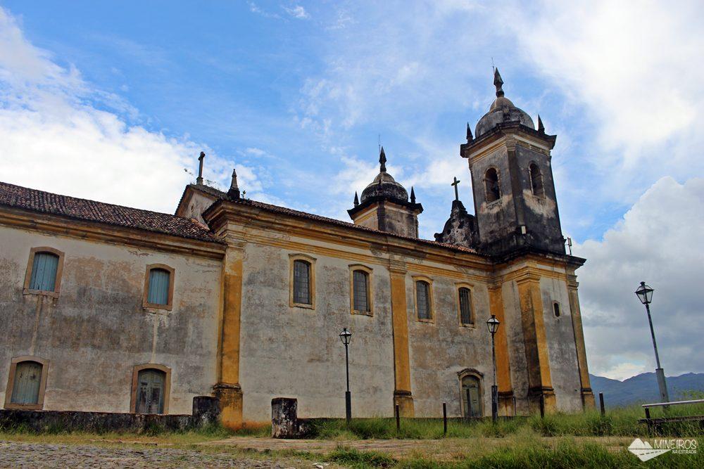 Igreja São Francisco de Paula, em Ouro Preto.