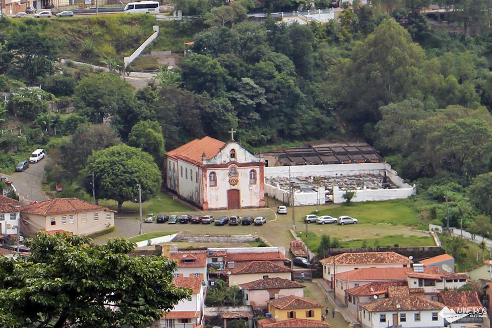 Capela Nossa Senhora das Dores, no bairro Antônio Dias, em Ouro Preto.