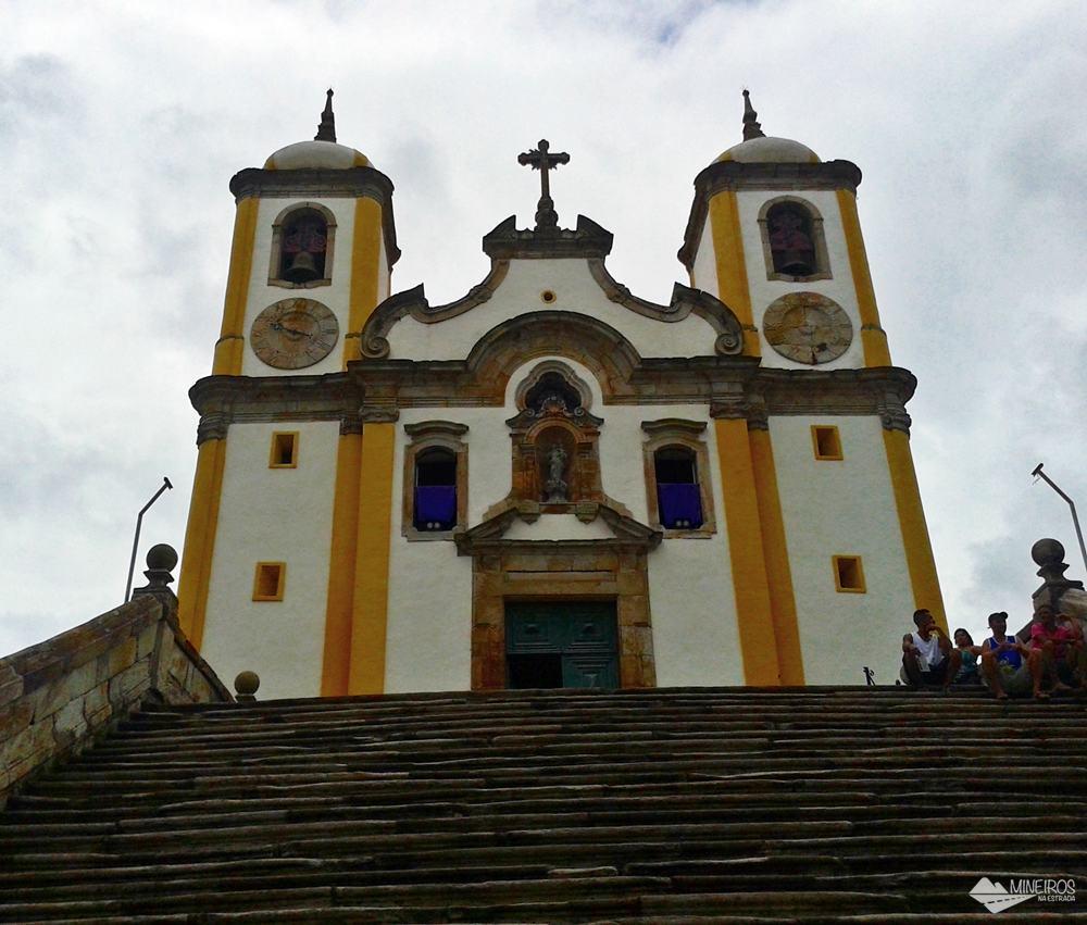 A Igreja de Santa Efigênia, em Ouro Preto, teria sido construída encomendada ex-escravo Chico Rei.