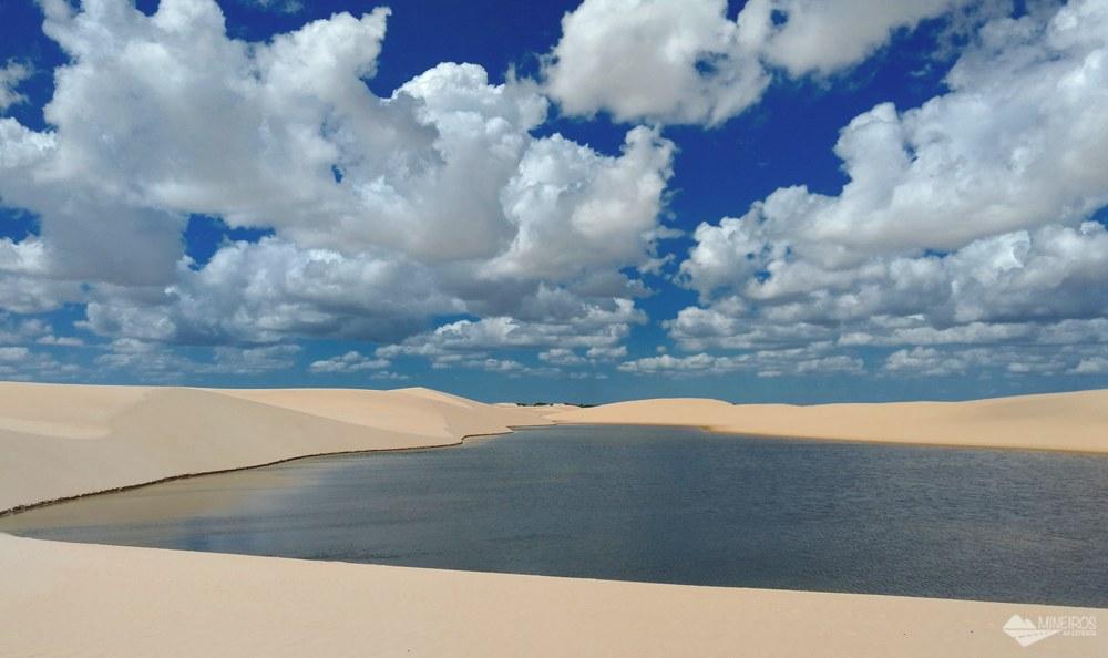 Canto do Atins, que faz parte dos Pequenos Lençóis, no Maranhão
