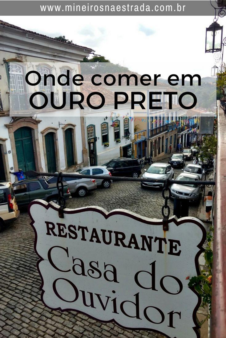 A Casa do Ouvidor é um restaurante que serve pratos a la carte,no almoço e jantar, localizado na rua Direita, em Ouro Preto.
