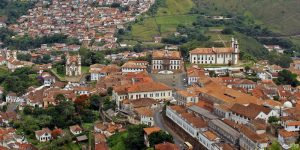 As igrejas, capelas e passos de Ouro Preto