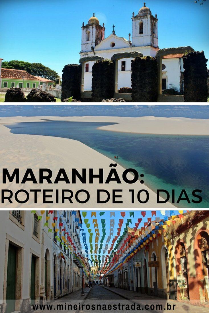 Roteiro de 10 dias no Maranhão, para conhecer São Luís, Alcântara e os Lençóis Maranhenses. Pernoitamos em São Luís, Barreirinhas e Atins e fizemos um bate-volta até Santo Amaro.