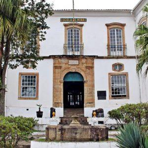 O Museu da Escola de Minas da Universidade Federal de Ouro Preto