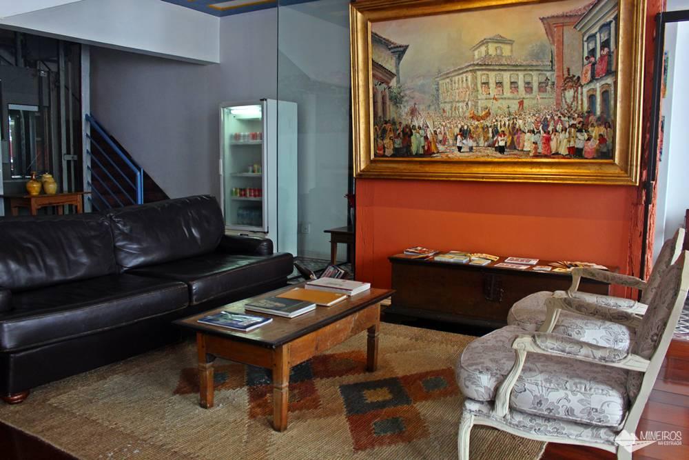 A Pousada Clássica fica a poucos metros da Praça Tiradentes e reúne quartos confortáveis, ótimo café da manhã e preços justos.