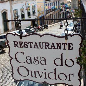 Casa do Ouvidor, um bom restaurante em Ouro Preto