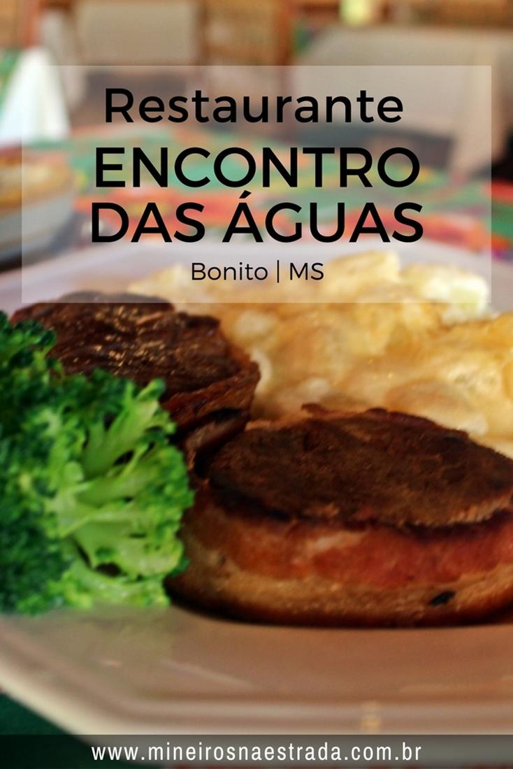 O Restaurante Encontro das Águas funciona nas dependências do Hotel Águas de Bonito e serve ótimas refeições e lanches. Abre para almoço e jantar.