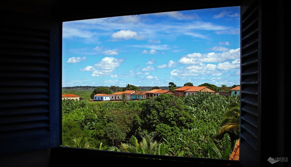 Alcânatara, vista da Igreja do Desterro.