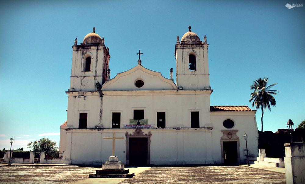 Igreja do Carmo, em Alcântara.