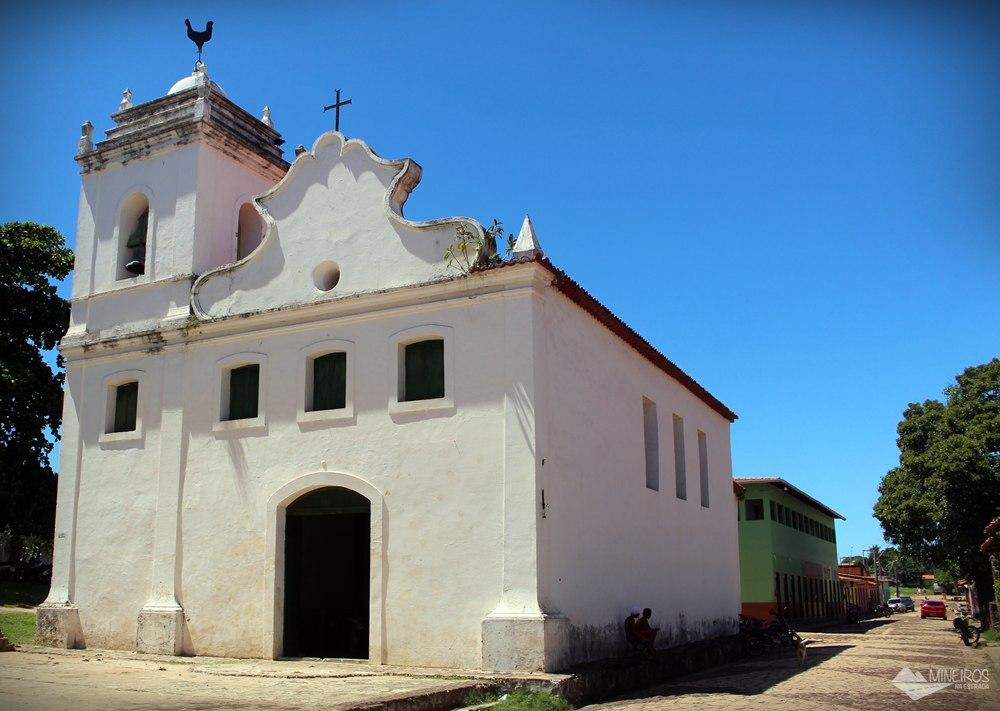 Igreja Nossa Senhora do Rosário dos Pretos, em Alcântara, Maranhão.