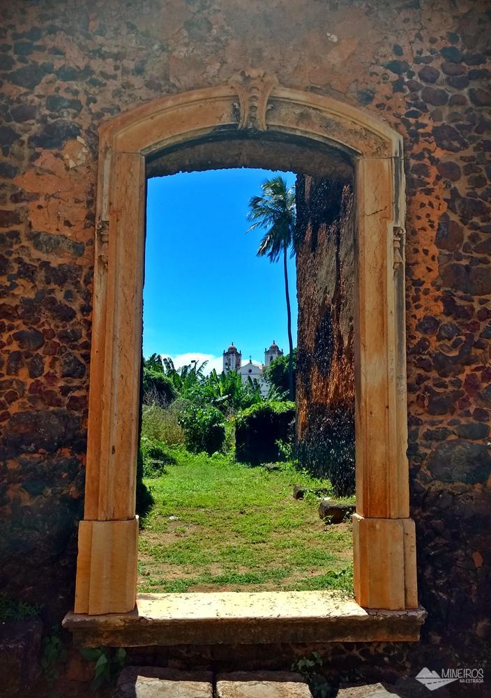 Ruínas do período colonial, em Alcântara.