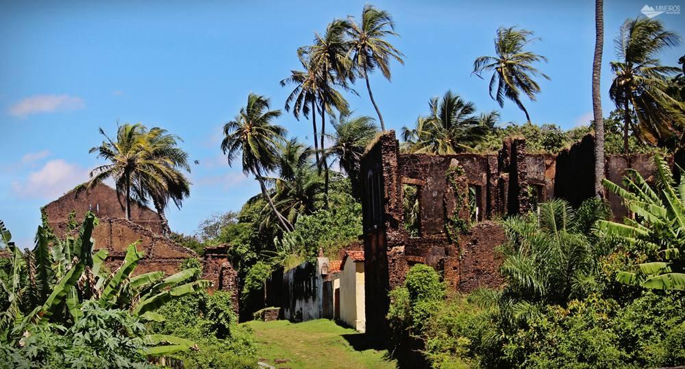 Ruínas coloniais em Alcântara, Maranhão.