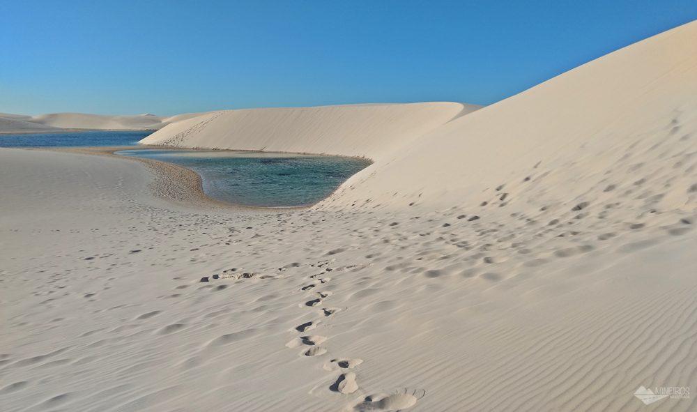 Como é o passeio pelo Circuito Lagoa Bonita, no Parque Nacional dos Lençóis Maranhenses, partindo de Barreirinhas.