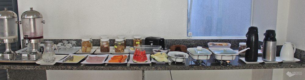 Hotel Julieta - café da manhã