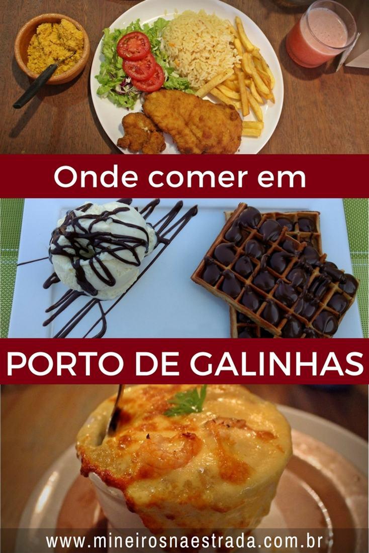 Onde comer em Porto de Galinhas. Opções para almoço e jantar, lanches rápidos e econômicos, sorveterias, bolo de rolo.