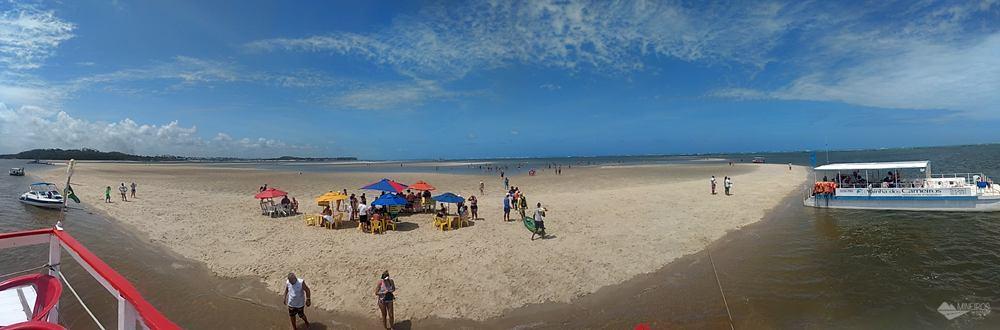 Banco de areia. praia dos carneiros - Pernambuco