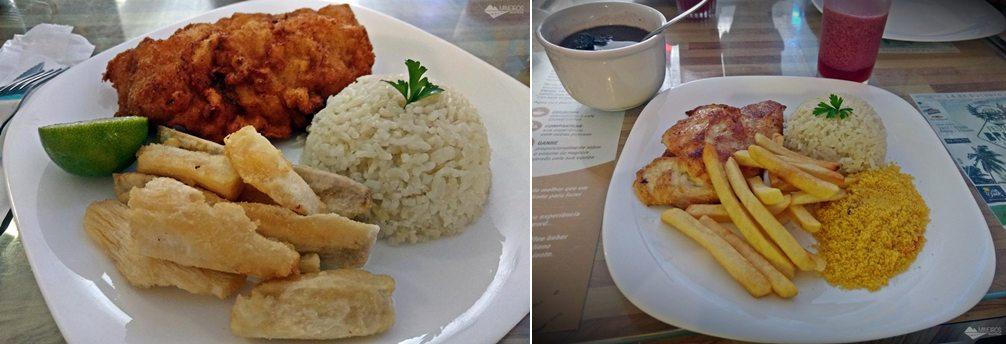 Restaurante Estrela da Manhã, em Porto de Galinhas