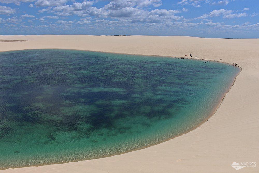 Parque Nacional dos Lençóis Maranhenses, em Santo Amaro do Maranhão.