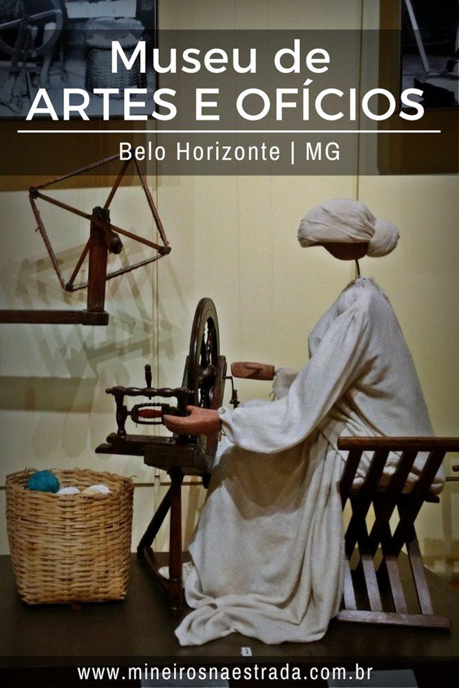 O Museu de Artes e Ofícios, em Belo Horizonte, mostra mais de 2500 peças relacionadas a ocupações do período pré-industrial brasileiro.
