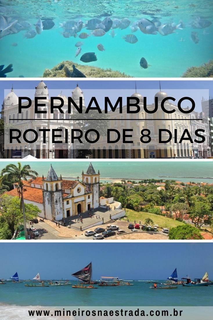 Roteiro de 8 dias por Recife, Olinda e Porto de Galinhas, com bate-volta para a Praia dos Carneiros. Um roteiro leve para qualquer idade.