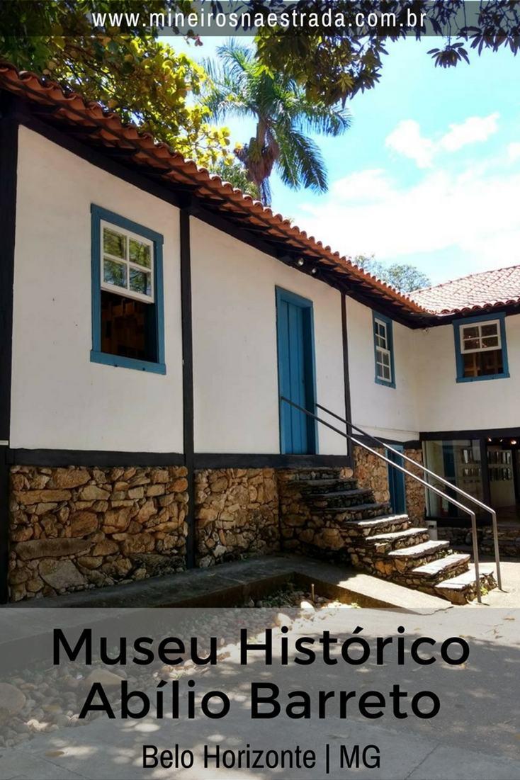 O Museu Histórico Abílio Barreto funciona no único casarão remanescente dos tempos do Curral del Rei e conta a história de Belo Horizonte.