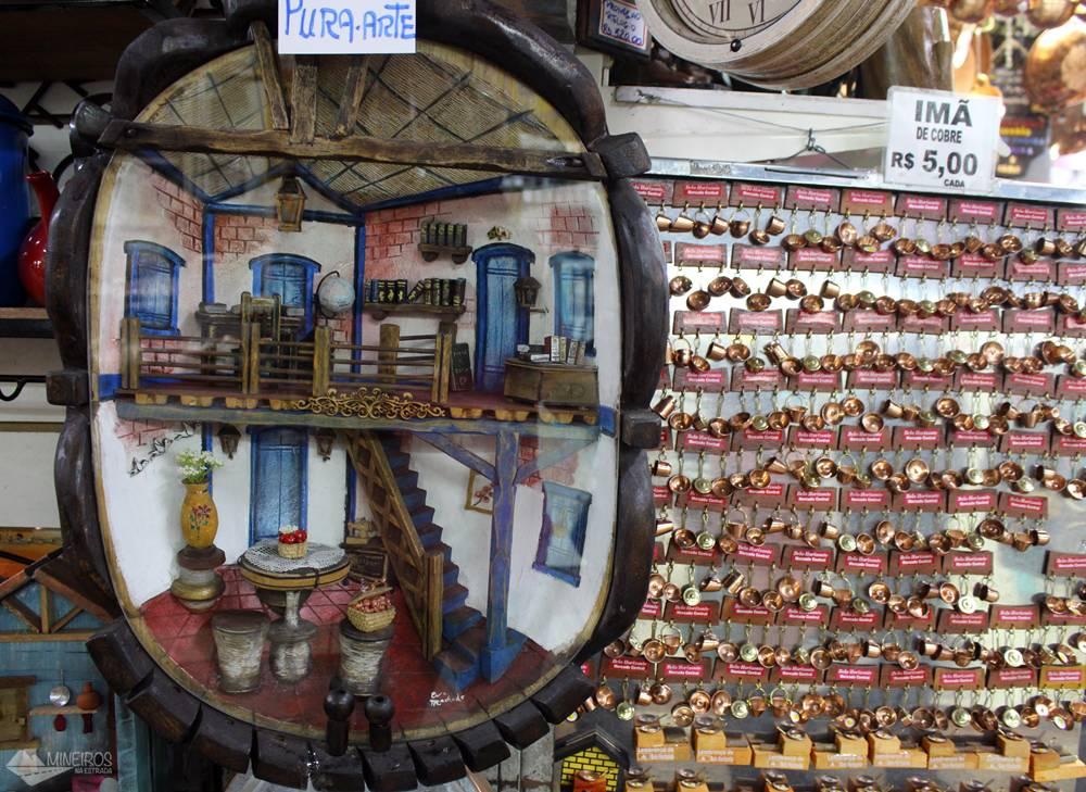 artesanato no mercado central de belo horizonte