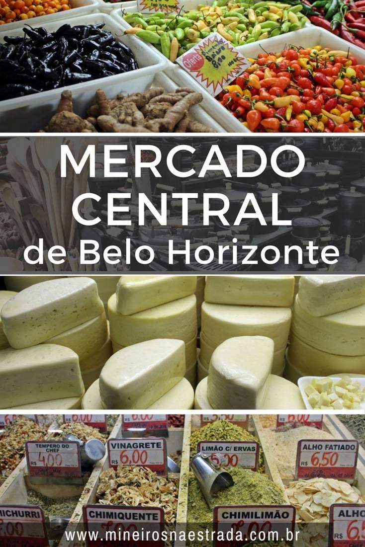 O Mercado Central de Belo Horizonte existe desde 1929 e tem mais de 400 lojas, onde se encontra praticamente tudo!