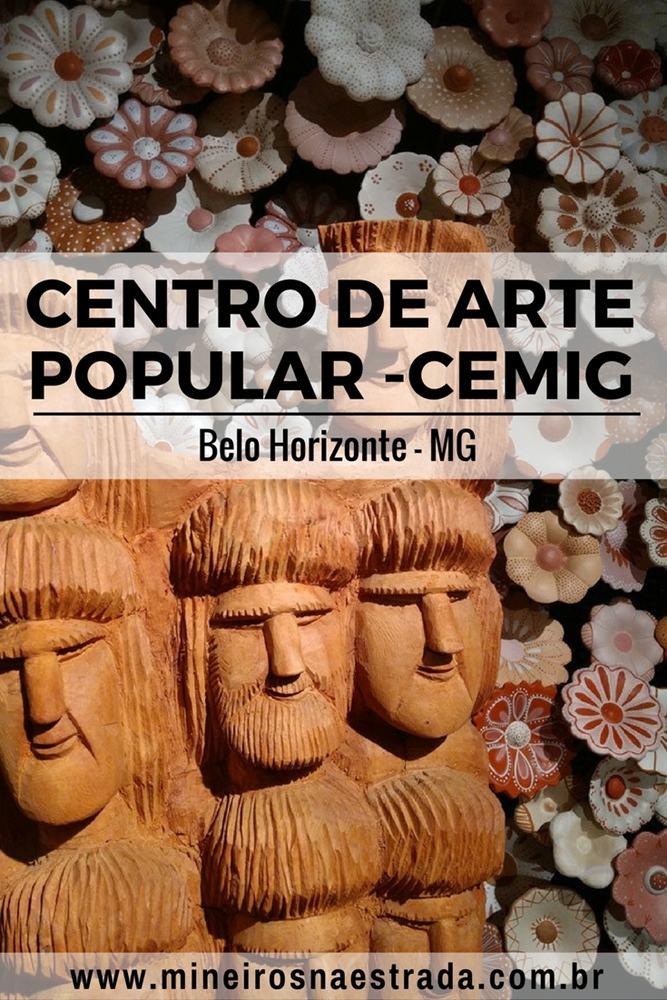 O Centro de Arte Popular - Cemig faz parte do Circuito Cultural Praça da Liberdade, em Belo Horizonte, e traz representações artísticas de toda Minas Gerais.