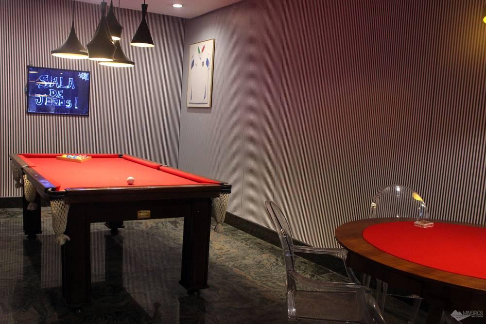 Sala de jogos do Ouro Minas Palace Hotel