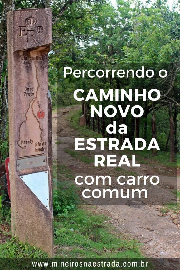 Percorremos o Caminho Novo da Estrada Real (ou o que foi possível) de petrópolis a Ouro Preto, de carro comum e contamos como foi.