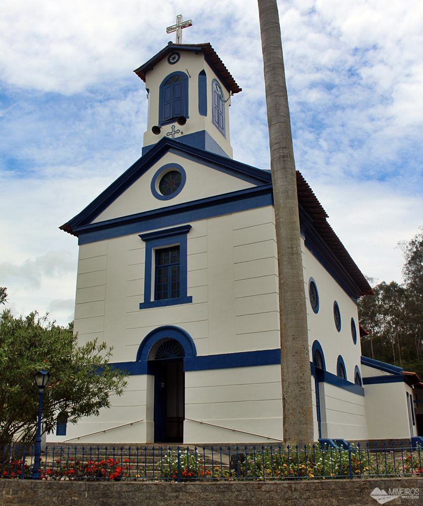 Paróquia Sant'Anna, no distrito de Inconfidência, Paraíba do Sul (RJ).