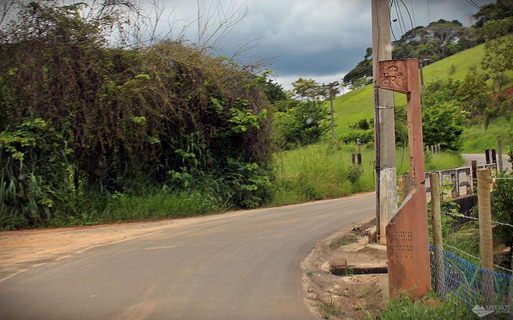 Marco da Estrada Real em Paraíba do Sul