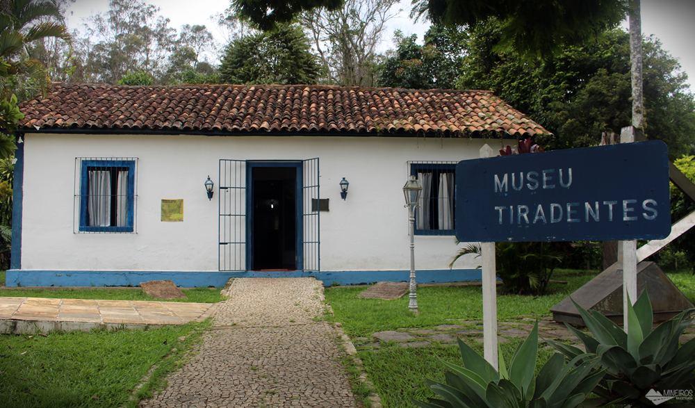 Museu Sacro Histórico de Tiradentes, em Paraíba do Sul (RJ).