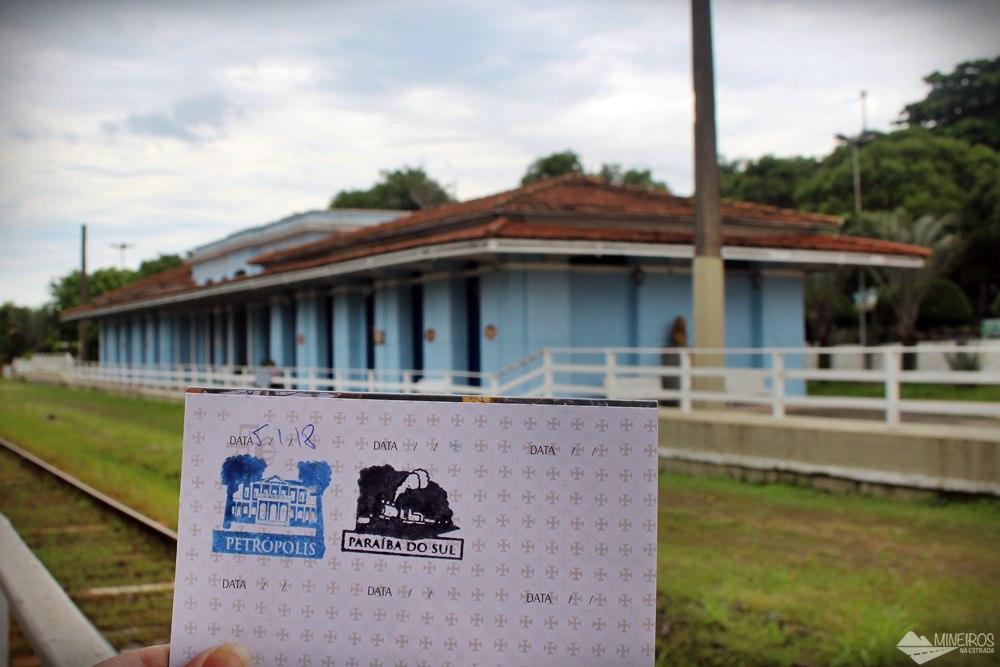 2º carimbo, em Paraíba do Sul.
