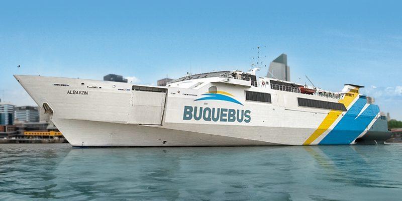 Como é viajar de barco de Colonia del Sacramento para Buenos Aires