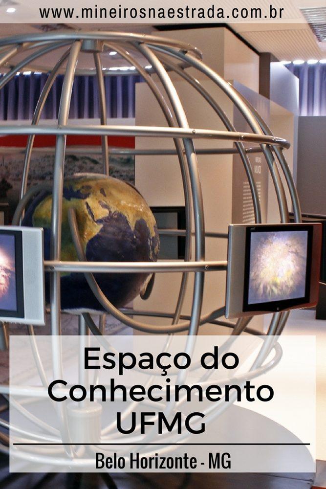 Espaço do Conhecimento UFMG, um dos espaços do Circuito Cultural da Praça da Liberdade, em Belo Horizonte.