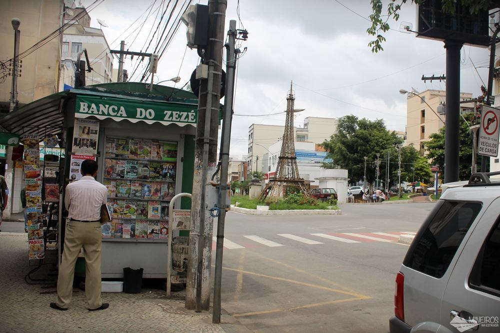 Banca do Zezé, ponto de carimbo do passaporte da Estrada Real, em Santos Dumont.