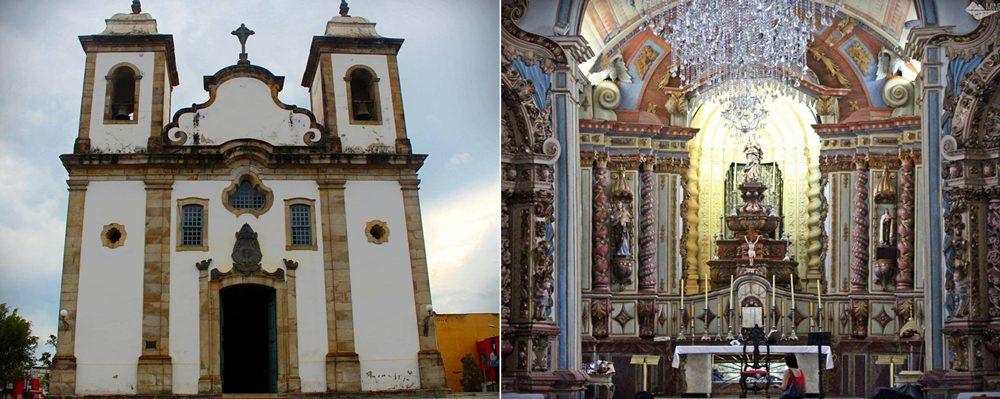 Igreja Nossa Senhora da Conceição, em Conselheiro Lafaiete.
