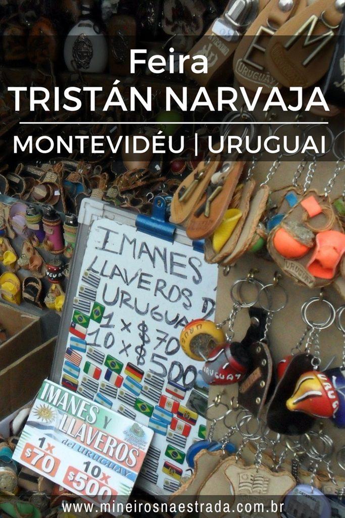 A Feira Tristán Narvaja acontece há mais de 100 anos em Montevidéu e é famosa por ter os mais variados produtos: de comida a objetos estragados.