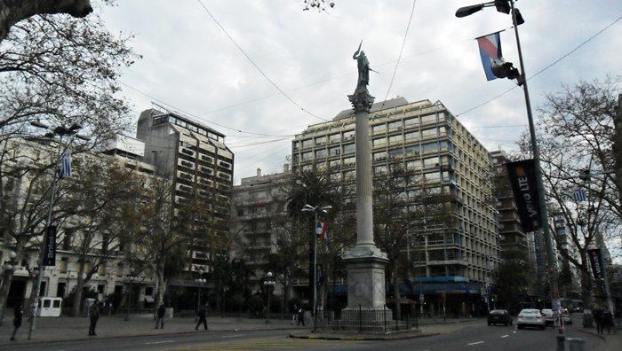 Columna de la Paz, centro de Montevidéu