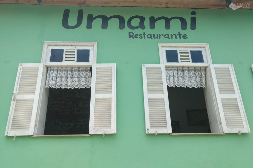 Restaurante Umami, self-service, em Santos Dumont.